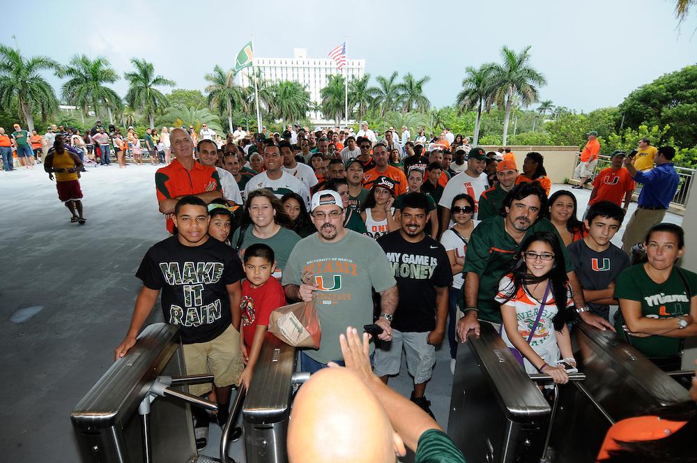 2012 Miami Hurricanes CanesFest