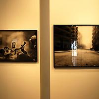 Sede de la Agencia Magnum Photos en Paris.<br /> Galeria Magnum Photos, Exhibicion de Paolo Pellegrin<br /> Paris, Francia 2008<br /> (Copyright © Aaron Sosa)