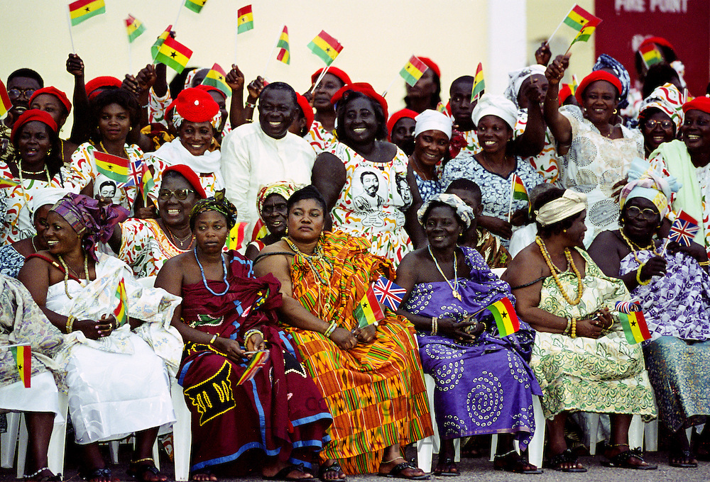 Durbar of tribal chief in Accra, Ghana
