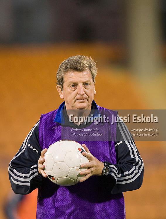 Roy Hodgson.&amp;#xA;Suomen A-maajoukkueen harjoitukset ottelustadionilla Jerevanissa Armeniassa 6.10.2006.&amp;#xA;Photo: Jussi Eskola<br />