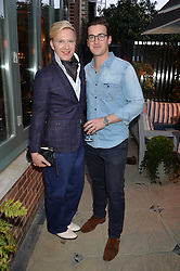 PICTURE SHOWS:-Left to right, HENRY CONWAY and FREDDIE CONWAY.<br /> Tuesday 14th April 2015 saw a host of London influencers and VIP faces gather together to celebrate the launch of The Ivy Chelsea Garden. Live entertainment was provided by jazz-trio The Blind Tigers, whilst guests enjoyed Moët & Chandon Champagne, alongside a series of delicious canapés created by the restaurant's Executive Chef, Sean Burbidge.<br /> The evening showcased The Ivy Chelsea Garden to two hundred VIPs and Chelsea<br /> residents, inviting guests to preview the restaurant and gardens which marry<br /> approachable sophistication and familiar luxury with an underlying feeling of glamour and theatre. The Ivy Chelsea Garden's interiors have been designed by Martin Brudnizki Design Studio, and cleverly combine vintage with luxury, resulting in a space that is both alluring and down-to-earth.