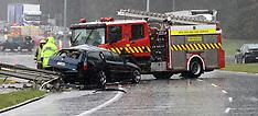 Rotorua-Serious crash takes out power poles