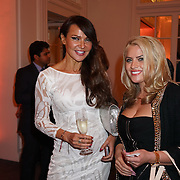 London,England,UK : 31th May 2016 : Migena Topciu and Lizzie Cundy attend the Fashion Parade at Mandarin Oriental Hotel, Knight bridge, London. Photo by See Li
