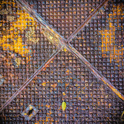 Old manhole cover (detail) Sydney, Australia
