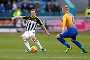 Notts County midfielder David Vaughan (8)  during the EFL Sky Bet League 2 match between Mansfield Town and Notts County at the One Call Stadium, Mansfield, England on 8 December 2018.