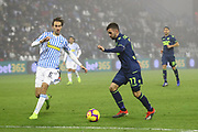 Foto LaPresse/Filippo Rubin<br /> 26/12/2018 Ferrara (Italia)<br /> Sport Calcio<br /> Spal - Udinese - Campionato di calcio Serie A 2018/2019 - Stadio &quot;Paolo Mazza&quot;<br /> Nella foto: MARCO D'ALESSANDRO (UDINESE)<br /> <br /> Photo LaPresse/Filippo Rubin<br /> December 26, 2018 Ferrara (Italy)<br /> Sport Soccer<br /> Spal vs Udinese - Italian Football Championship League A 2018/2019 - &quot;Paolo Mazza&quot; Stadium <br /> In the pic: MARCO D'ALESSANDRO (UDINESE)