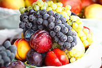 We went for a walk around the Kelowna Farmers' & Crafters' Market. The pure abundance of beautiful fresh fruits and vegetables was amazing to see. Everythind was bright and colorful and mouth wateringly fresh...©2010, Sean Phillips.http://www.RiverwoodPhotography.com