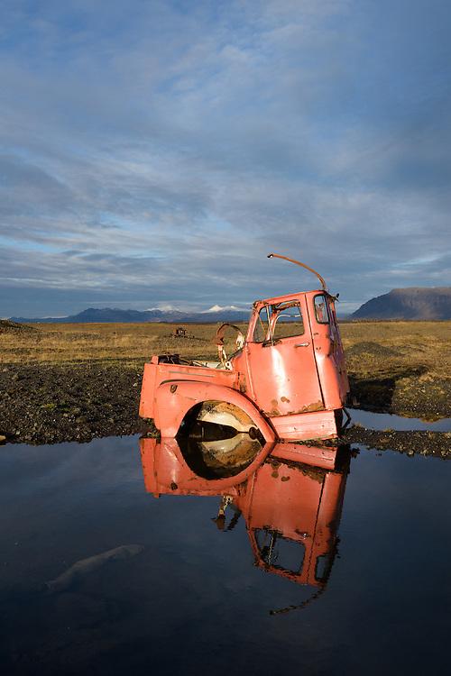 Abandoned truck, Snæfellsnes, Iceland
