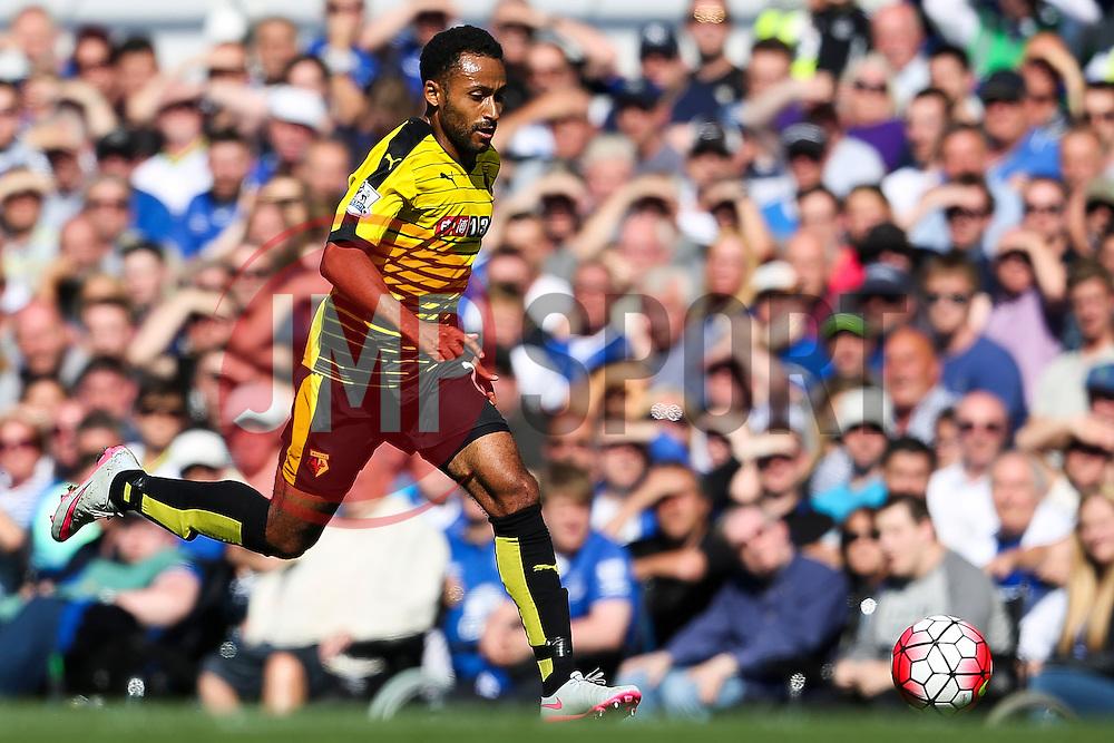 Watford's Ikechi Anya attacks - Mandatory byline: Matt McNulty/JMP - 07966386802 - 08/08/2015 - FOOTBALL - Goodison Park -Liverpool,England - Everton v Watford - Barclays Premier League