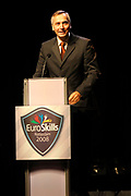 Euroskills 2008 Rotterdam - EuroSkills, a new European profession event, where young people in an addressing manner live their (future) profession and training.<br /> <br /> On the Photo: <br />  Jan Figel - European Commissioner responsible for Education, Training, Culture and Multilingualism