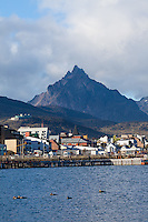 CIUDAD DE USHUAIA Y MONTE OLIVA, PROVINCIA DE TIERRA DEL FUEGO,  PATAGONIA, ARGENTINA (PHOTO BY © MARCO GUOLI - ALL RIGHTS RESERVED. CONTACT THE AUTHOR FOR ANY KIND OF IMAGE REPRODUCTION)