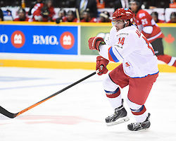 Game 3 of the SUBWAY SUper Series in Peterborough, ON on Thursday Nov. 13, 2014. Photo by Aaron Bell/OHL Images