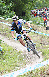 01.06.2014, Bullentaele, Albstadt, GER, UCI Mountain Bike World Cup, Cross Country Herren, im Bild Emil Lindgren Schweden // during Mens Cross Country Race of UCI Mountainbike Worldcup at the Bullentaele in Albstadt, Germany on 2014/06/01. EXPA Pictures © 2014, PhotoCredit: EXPA/ Eibner-Pressefoto/ Langer<br /> <br /> *****ATTENTION - OUT of GER*****