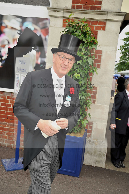 The DUKE OF DEVONSHIRE at the Royal Ascot racing festival 2009 held on 17th June 2009.