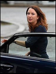 Rebecca Deacon the Duchess of Cambridges Private Secretary arrives at a school in Northolt, West London, United Kingdom. Friday, 14th February 2014. Picture by Andrew Parsons / i-Images