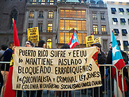 Puerto Rico Protest at Trump Towers NYC-October 3rd 2017
