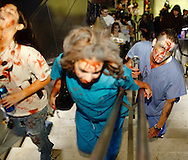 Las Vegas Zombie Crawl/Zombie Walk along the strip starting at the Luxor
