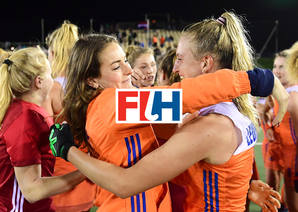 AUCKLAND - Sentinel Hockey World League final women<br /> Match id:10322<br /> 22 NED v NZL (Final)<br /> Foto: Eva de Goede en Laurien Leurink <br /> WORLDSPORTPICS COPYRIGHT FRANK UIJLENBROEK