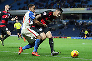 Elliot Bennet during the Sky Bet Championship match between Blackburn Rovers and Queens Park Rangers at Ewood Park, Blackburn, England on 12 January 2016. Photo by Pete Burns.
