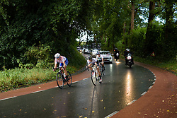 Lizzie Armitstead (Boels Dolmans) and Winanda Spoor (Lensworld Zannata) in the break at the 119 km Stage 6 of the Boels Ladies Tour 2016 on 4th September 2016 from Bunde to Valkenburg, Netherlands. (Photo by Sean Robinson/Velofocus).