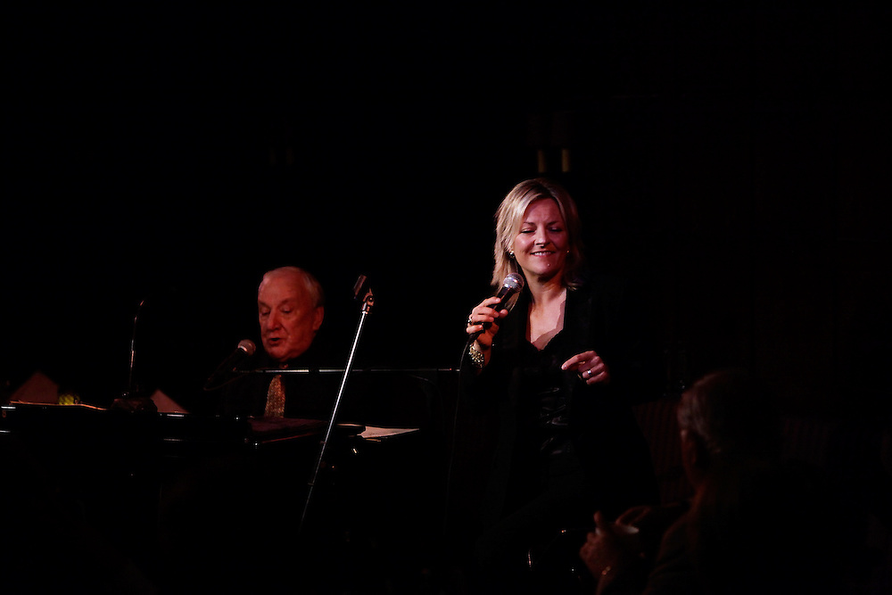 Jazz vocalist Claire Martin and pianist Richard Rodney Bennett  perform at the Oak Room at the Algonguin on May 26, 2009 in New York. photo by Joe Kohen for The New York Times