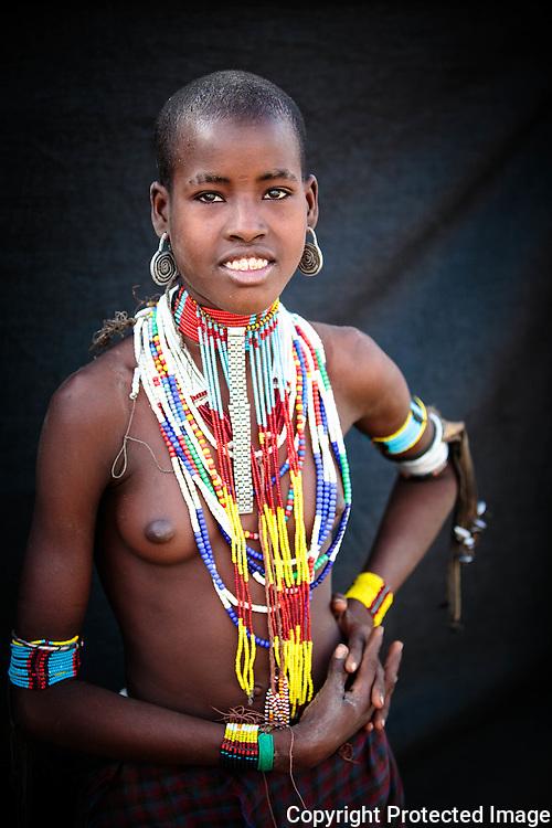 Ethiopia, Omo Valley, Erbore Tribe