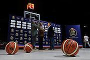 GIanni Petrucci<br /> Presentazione Campionato Lega Basket 2016-2017<br /> Basket Serie A  2016<br /> Milano 26/09/2016<br /> Foto Ciamillo-Castoria