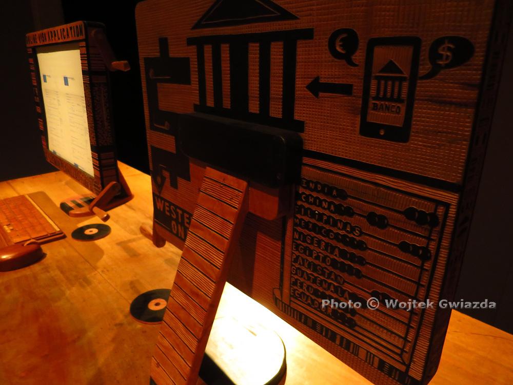 Abel Barroso's 'Cuban style cyber lounge' (2017) - Cuba at Venice Biennial 2017