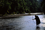 Machiguenga Indian Fishing<br />