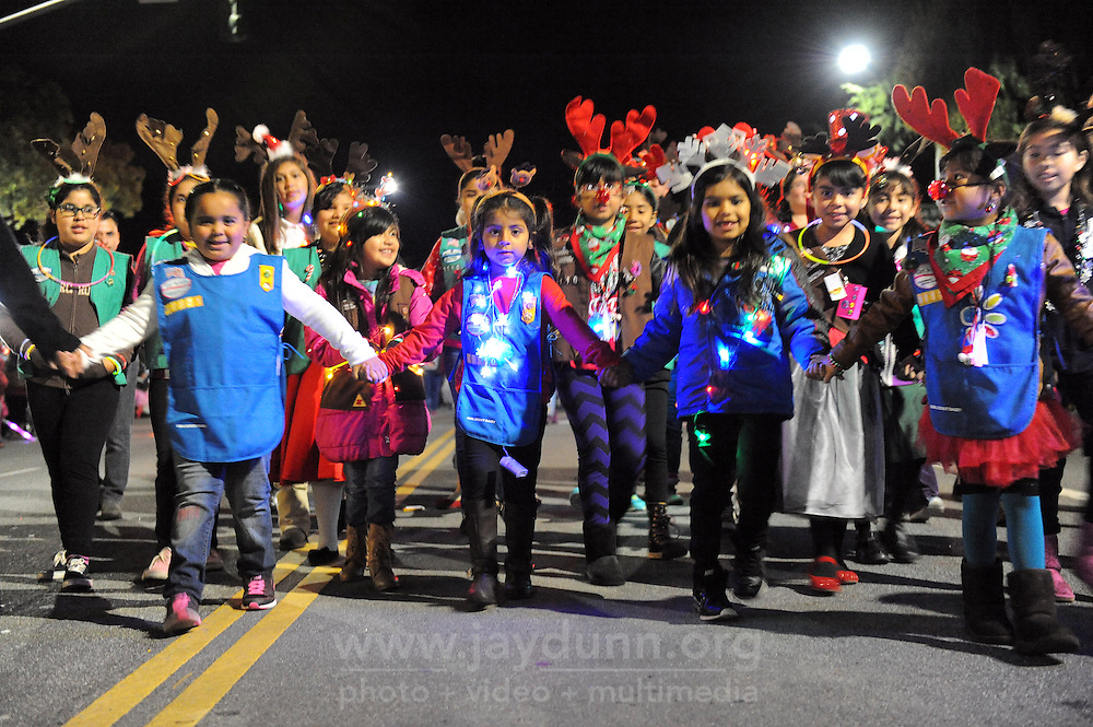 Thousands of Salinas residents turned out on Sunday evening to experience the magic of the 14th annual Holiday Parade of Lights in Oldtown Salinas.