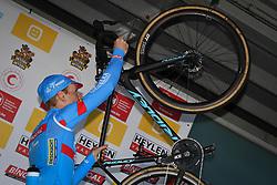 February 24, 2019 - Oostmalle, BELGIUM - Belgian Kevin Pauwels pictured on the podium after his last race at the 'Internationale Sluitingsprijs Oostmalle' cyclocross race, Sunday 24 February 2019, in Oostmalle, the last race of the 2018-2019 season. BELGA PHOTO DAVID STOCKMAN (Credit Image: © David Stockman/Belga via ZUMA Press)