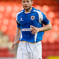 St Johnstone Season 2008-09<br /> Kevin Rutkiewicz<br /> <br /> Picture by Graeme Hart.<br /> Copyright Perthshire Picture Agency<br /> Tel: 01738 623350  Mobile: 07990 594431