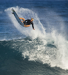 December 16, 2017 - Banzai Pipeline, HI, USA - BANZAI PIPELINE, HI - DECEMBER 16, 2017 - John John Florence of Hawaii free surfing Off The Wall before the start of the Billabong Pipe Masters Saturday. (Credit Image: © Erich Schlegel via ZUMA Wire)