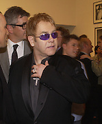 Sir Elton John, photo-london at the Royal Academy, 19 May 2004. ONE TIME USE ONLY - DO NOT ARCHIVE  © Copyright Photograph by Dafydd Jones 66 Stockwell Park Rd. London SW9 0DA Tel 020 7733 0108 www.dafjones.com