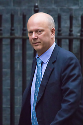 Downing Street, London, November 17th 2015. Leader of the Commons Chris Grayling arrives at Downing Street for the weekly cabinet meeting.
