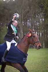 Grouwels Sven (BEL) - Vennoot uit de Melle<br /> Nationaal kampioenschap LRV eventing - Lummen 2012<br /> © Dirk Caremans