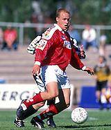 04.07.1999.Veikkausliiga / Finnish League..Ville Lehtinen - FC Jazz Pori.©Juha Tamminen