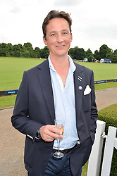 The DUKE OF ARGYLL at the Laureus King Power Cup polo match held at Ham Polo Club, Richmond on 16th June 2016.