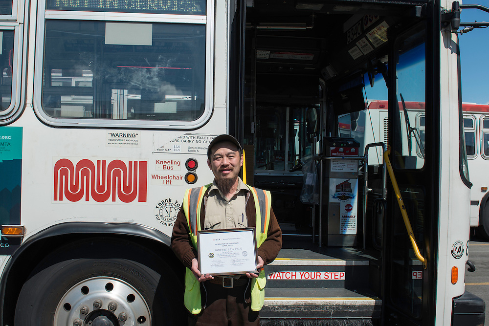 Portrait of Kirkland Operator of the Month Howard Lew | April 8, 2015