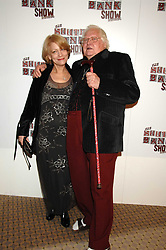 KEN RUSSELL and his wife Jelka at the South Bank Show Awards held at The Dorchester, Park Lane, London on 29th January 2008.<br />