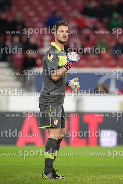 06.12.2012, Mercedes Benz Arena, Stuttgart, GER, UEFA EL, GER, UEFA EL, VfB Stuttgart vs Molde FK, Gruppe E, im Bild Sven ULREICH (VfB Stuttgart) // during UEFA Champions League group E match between FC Bayern Munich and BATE Baryssau at the Mercedes Benz Arena, Stuttgart, Germany on 2012/12/06. EXPA Pictures © 2012, PhotoCredit: EXPA/ Eibner/ Eckhard Eibner..***** ATTENTION - OUT OF GER *****