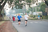 24/11/2013 repro free Kieran Coleman from Kiloughter , Co. Galway taking part in the Great Ethiopian run in Hawassa as opposed to the Capital Addis Ababa due to a security threat, part of a group of 20 from Ireland who ran the race in aid of Self Help Africa. Photo:Andrew Downes