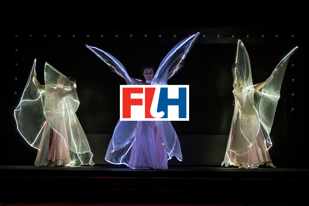 CHANDIGARH, INDIA - FEBRUARY 23: LED Angels perform during the FIH Hockey Stars Awards 2016 at Lalit Hotel on February 23, 2017 in Chandigarh, India. (Photo by Ali Bharmal/Getty Images for FIH)