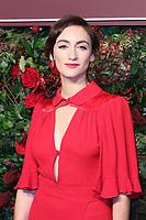 Cara Horgan, 64th Evening Standard Theatre Awards, Theatre Royal Drury Lane, London UK, 18 November 2018, Photo by Richard Goldschmidt