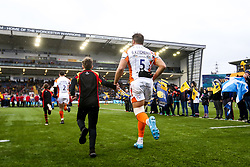 Graham Kitchener of Worcester Warriors runs out at Sixways Stadium - Mandatory by-line: Robbie Stephenson/JMP - 15/02/2020 - RUGBY - Sixways Stadium - Worcester, England - Worcester Warriors v Bath Rugby - Gallagher Premiership Rugby
