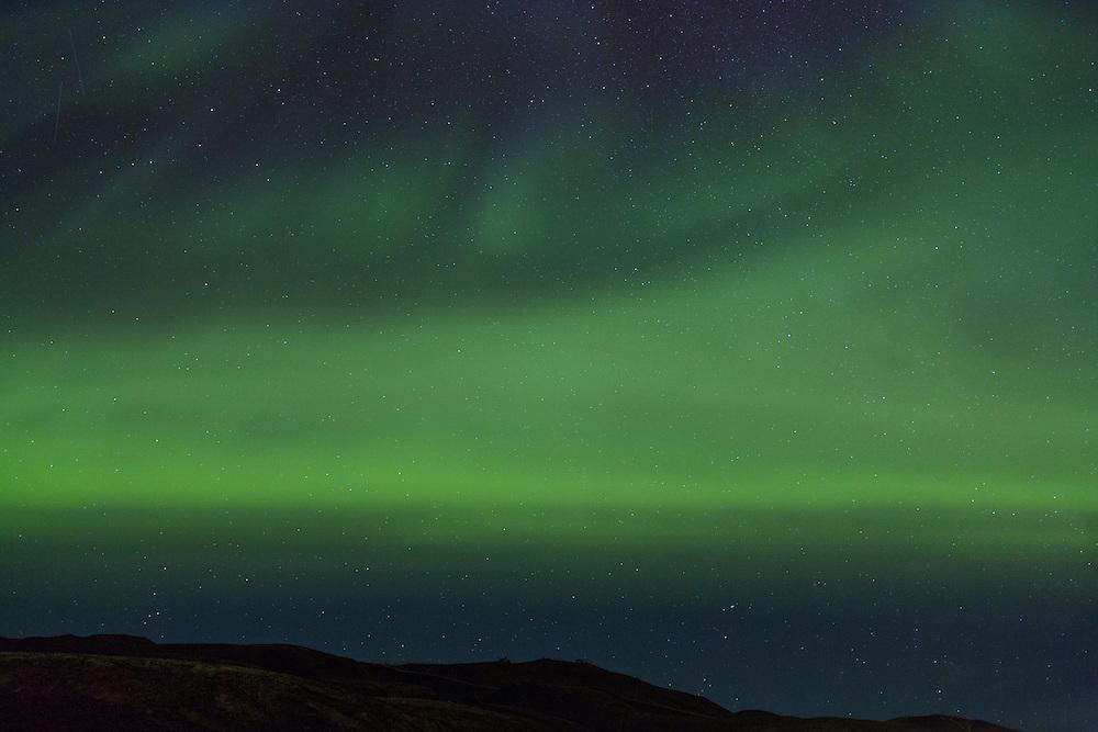 Aurora Borealis over Blafjoll september 19th 2012