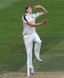 Nottinghamshire's Matt Carter. - Photo mandatory by-line: Harry Trump/JMP - Mobile: 07966 386802 - 15/06/15 - SPORT - CRICKET - LVCC County Championship - Division One - Day Two - Somerset v Nottinghamshire - The County Ground, Taunton, England.