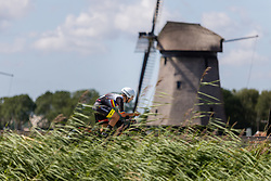 CABANAS QUINTELA Oscar from ANDORA during Men Elite Time Trial at 2019 UEC European Road Championships, Alkmaar, The Netherlands, 8 August 2019. <br /> <br /> Photo by Thomas van Bracht / PelotonPhotos.com <br /> <br /> All photos usage must carry mandatory copyright credit (Peloton Photos | Thomas van Bracht)