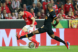 February 21, 2019 - Lisbon, Portugal - Pizzi (Luís Miguel Afonso Fernandes) of SL Benfica in action during the Europa League 2018/2019 footballl match between SL Benfica vs Galatasaray AS. (Credit Image: © David Martins/SOPA Images via ZUMA Wire)