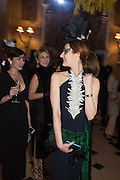 ATTILIA FATTORI; ARIANE LOVELACE, Ball at to celebrateBlanche Howard's 21st and  George Howard's 30th  birthday. Dress code: Black Tie with a touch of Surrealism. Castle Howard. Yorkshire. 14 November 2015